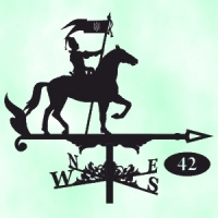 Флюгер  Казак на коне
