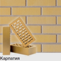 Клинкерный облицовочный кирпич Terca Karpatia