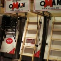 Лестница чердачная Oman