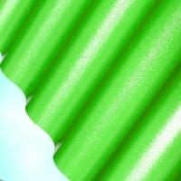 Лист ПВХ Salux WBS 76/18 2*0.9, зелёная волна