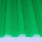 Лист ПВХ Salux HR 70/18 2*0.9, зелёная трапеция
