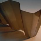 Лист ПВХ Salux WHUV 70/18 2*0.9, бронзовая трапеция